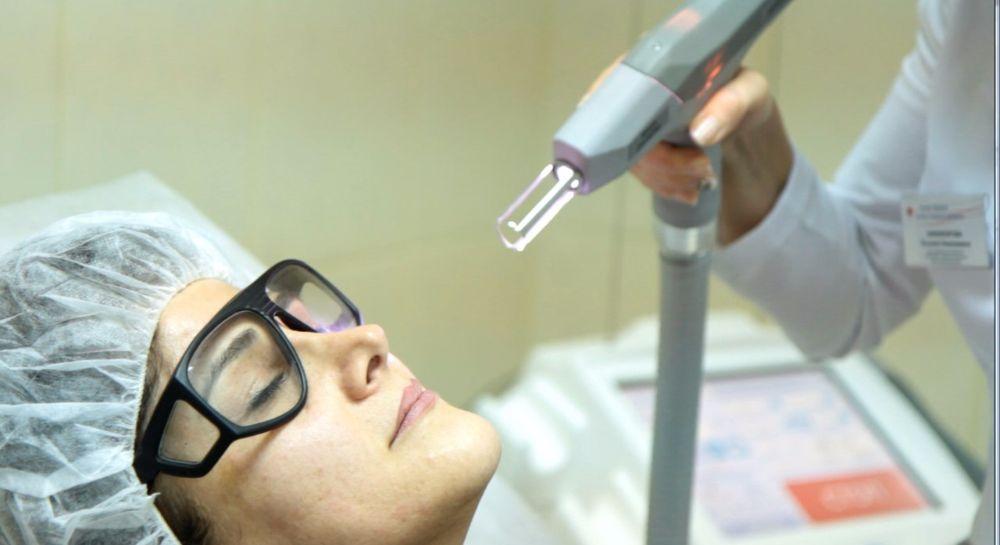 Низкоинтенсивное лазерное излучение кожи 2